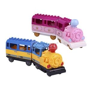 Image 4 - Marumine pil kumandalı Duplo oyuncak trenler yapı taşları çocuk eğitici oyuncak hediye çocuklar için elektrikli tren