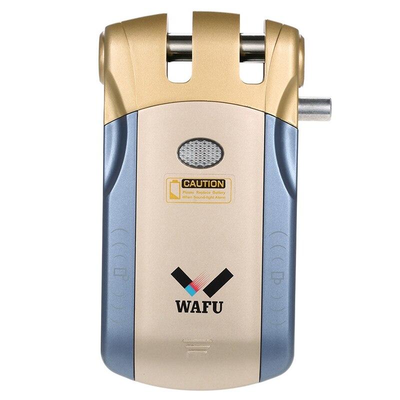 ABKT Wafu Wf 010A Draadloze Beveiliging Onzichtbare Keyless Entry Deur Intelligente Lock Ios Android App Unlocking Met 4 Remote Keys G - 3
