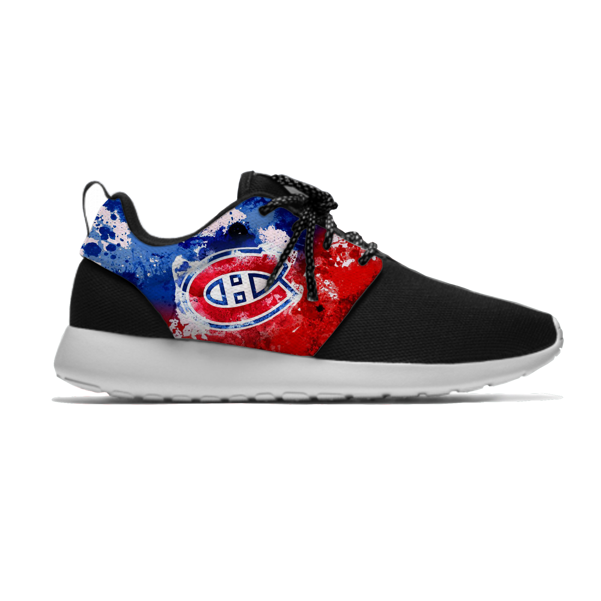 Lightweight Sport Canadiens Shoes Breathable Casual Sneakers Men/Women Montreal Ice Hockey Fans Running Meshy Shoes