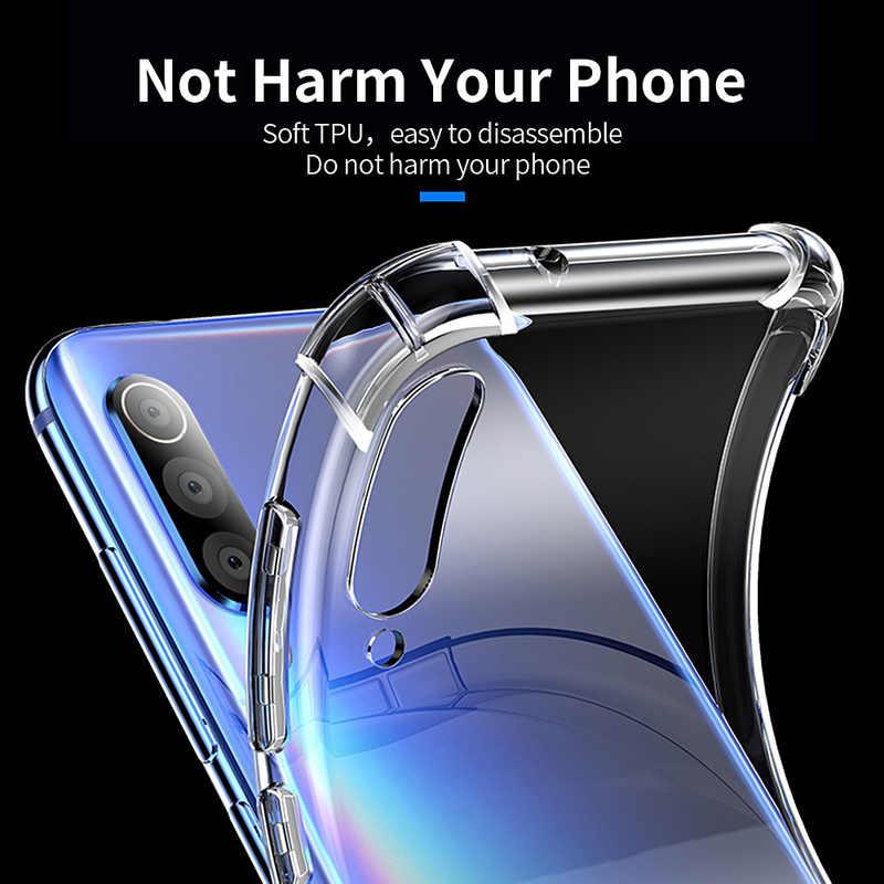 Essager Ốp Lưng Chống Sốc cho Tiểu Mi Mi 9 SE 8 Chơi Ốp Lưng Silicon dành cho Tiểu mi Đỏ Mi Note 7 6 Pro Note4X 5 Plus A2 Lite Trường Hợp Vỏ