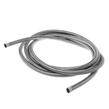 Car-Styling Stainless Steel 1M Braided Brake Gas Oil Fuel Line Hose AN4 AN6 AN8 AN10 Automobiles Cooling System 1m 3m stainless steel braided brake gas oil fuel line hose an4 an6 an8 an10 new