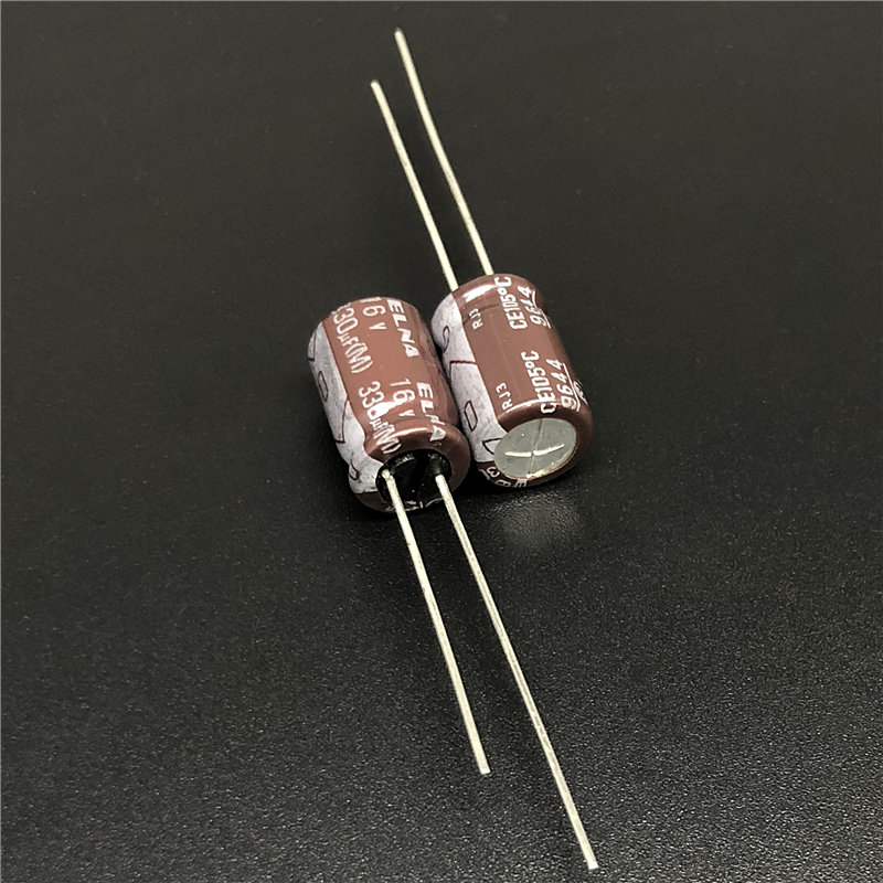10pcs 35V 330uF 35V Japan ELNA RJ3 10x16mm Audio Capacitor