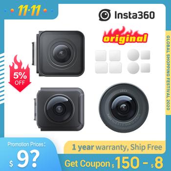 Oryginalna kamera sportowa Insta360 ONE R 4k podwójny obiektyw Mod 360 Mod 1-Cal Mod Leica Mod tanie i dobre opinie hohem Inne Serii SONY Ambarella H2 (4 K 60FPS) O 14MP CN (pochodzenie) Dla Domu