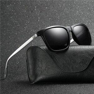 Aluminum Magnesium Polarized Al Mg Sunglass Men Metal Driver Classic Retro 2020 Brand Designer UV400 Sun Glasses 0733