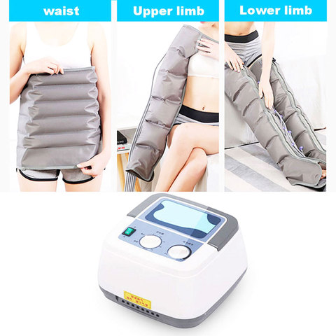 air wave pressure massager continuous compression circulator leg arm waist leg massageing machine muscles relaxed