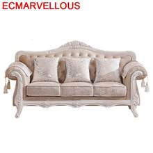 Oturma Grubu Meble Do Salonu Copridivano Home Recliner Puff European De Sala Set Living Room Furniture Mueble Mobilya Sofa(China)