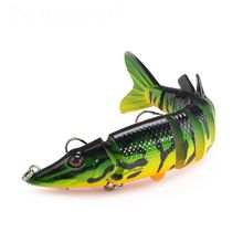 1pcs Multi Jointed Artificial Swim Bait Fishing Lures Artificial bait 20g Sinking Wobbler swimbait jointed lure crankbait Tackle