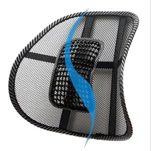 Universal 12V Auto Electric Massage Car Waist Seat Back Cushion Support Protection Lumbar Backrest Vehicle Interior Supplies