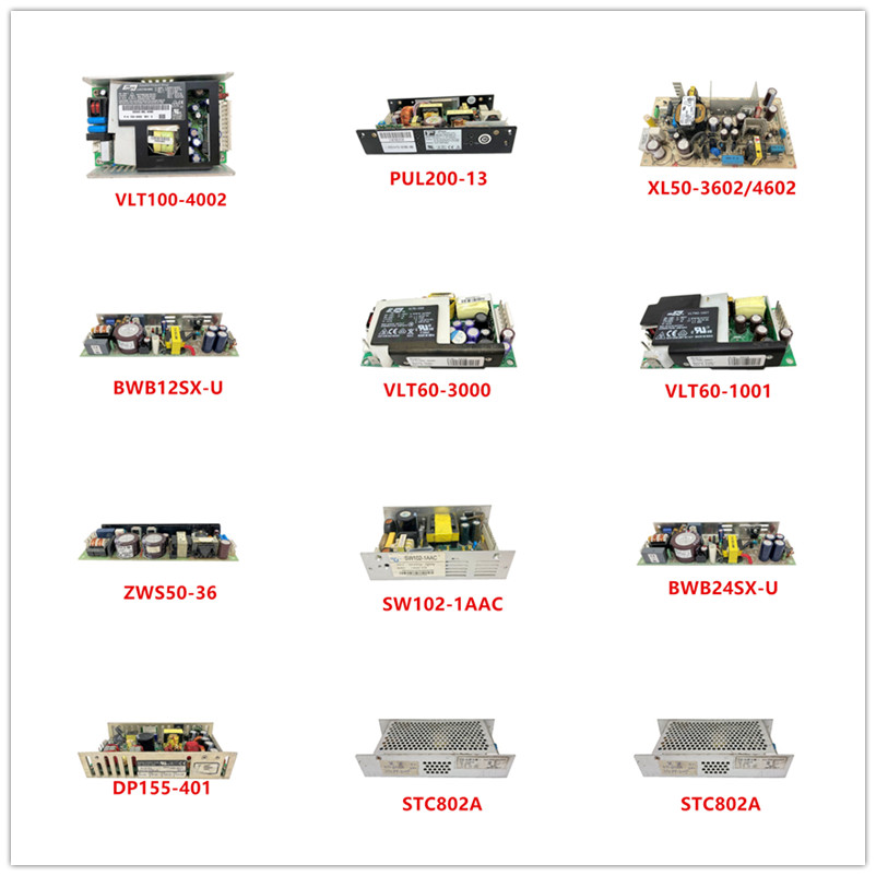 VLT100-4002|PUL200-13|XL50-3602/4602|BWB12SX-U|VLT60-3000|VLT60-1001|ZWS50-36|SW102-1AAC|BWB24SX-U|DP155-401|STC802A Used
