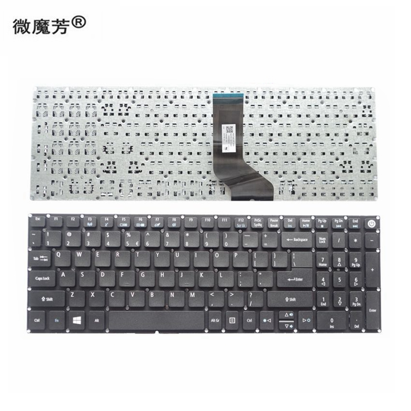 Keyboard Silicone Skin Cover Protector for Acer Aspire 7740 7745 7551
