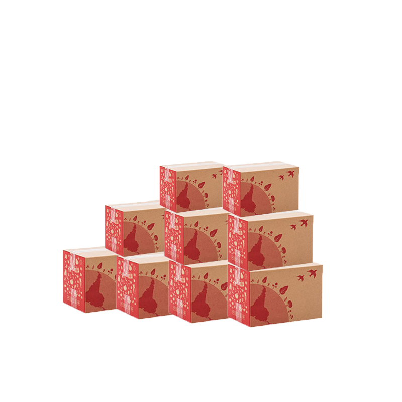 5 Layer Corrugated Packaging Box Very Hard Paper Express Box Mailers Logistics Transport Boxes Cosmetics Boutiques Carton 10Pcs