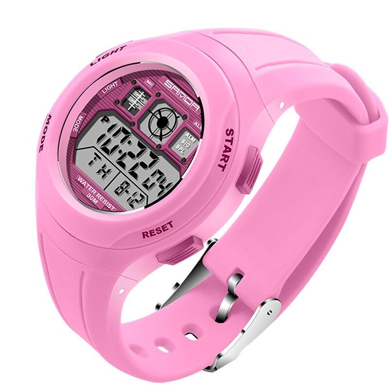 SANDA Брендовые спортивные часы детские часы для девочек и мальчиков наручные часы водонепроницаемые часы электронные цифровые детские