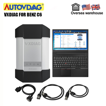 Vxdiag For Benz C6 Diagnostic tool Mb star C4 for Mercedes Compact 4 Newest software 2019.05 for XENTRY/DTS ECU/key programming