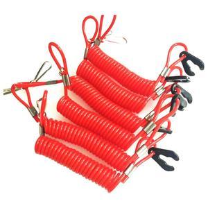 Лодочный мотор Kill Stop переключатель ключ Веревка безопасности шнур трос водонепроницаемый дизайн для Yamaha подвесной для Honda