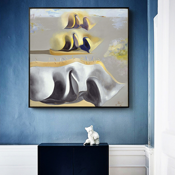 Salvador Dali The mystery of Dara's paintings Gala Canvas Painting Posters Prints Wall Art Picture for Living Room Decor Cuadros 4