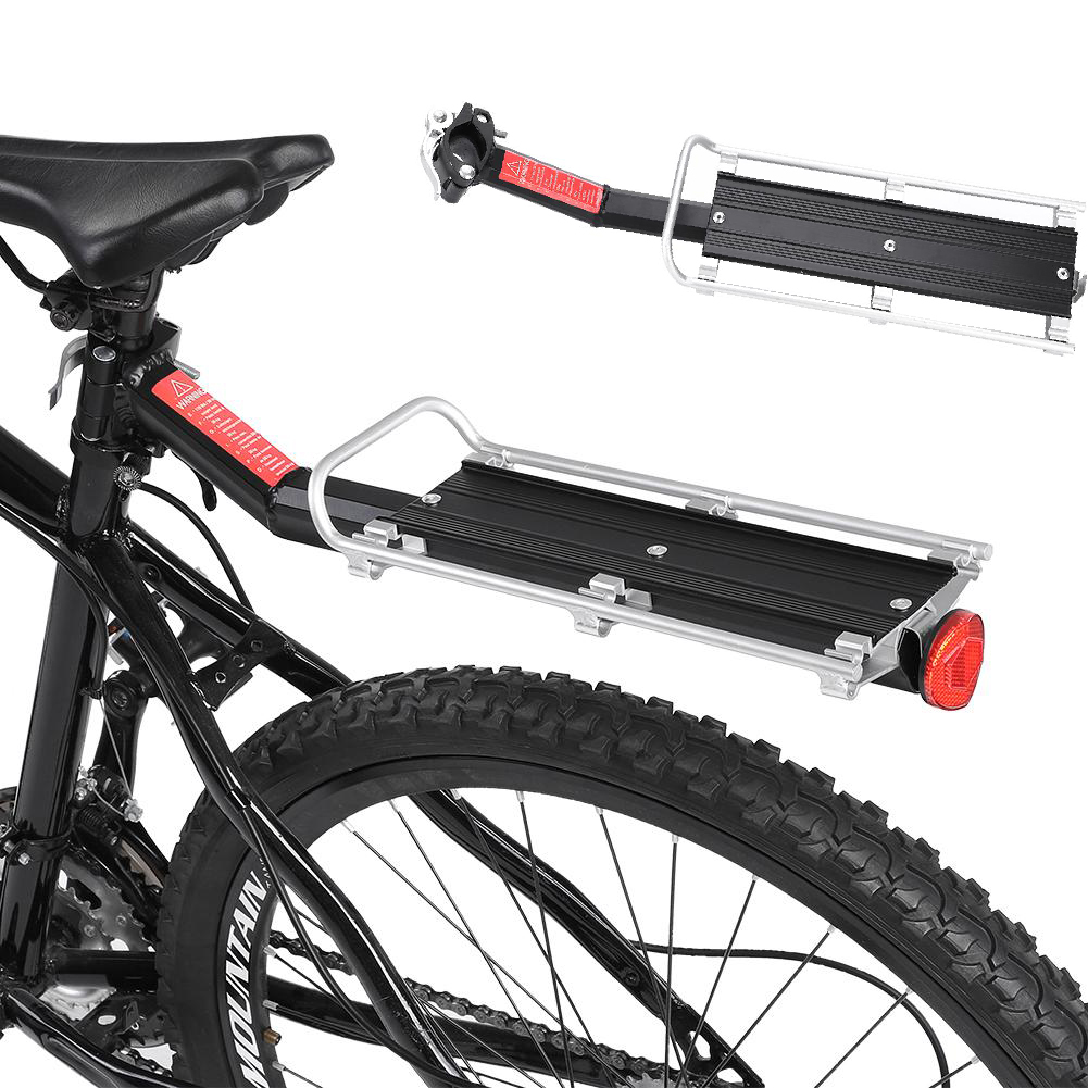 MTB Bicycle Carrier Rack Seat Post Rear Shelf Aluminum Alloy Outdoor