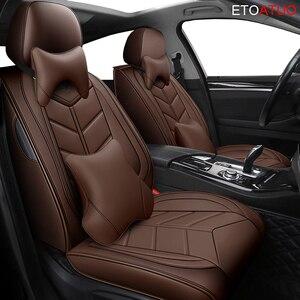 Image 1 - Copertura completa Eco auto in pelle sedili Coperture DELLUNITÀ di elaborazione di Cuoio Seggiolino auto Coperture per VW polo beetle golf golf plus jetta scirocco passaat