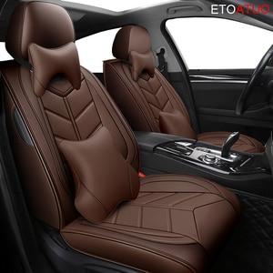 Image 2 - Full Coverage Eco leather auto seats covers PU Leather Car Seat Covers forlada ellada granta kalina largus xray ladasamara ladac