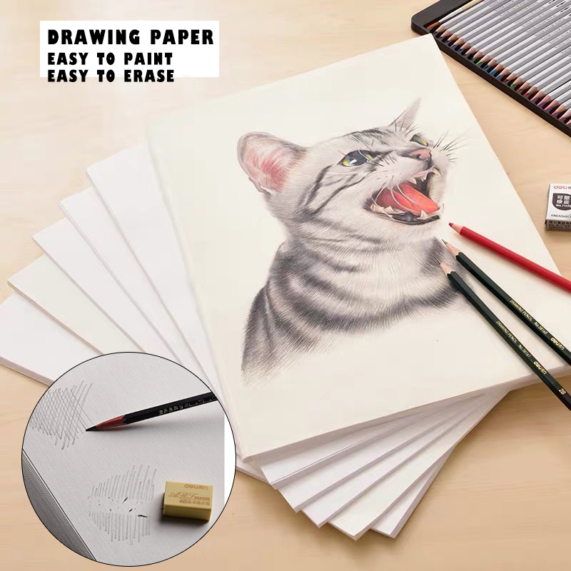 Dingchang 8K Drawing Paper 160g 8K Sketch Paper Art Drawing Paper Special Paper For Painting 20 pieces / bag