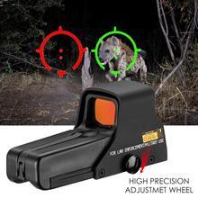 Mira holográfica de punto rojo interior ajustable, para caza al aire libre, HD, impermeable y a prueba de golpes, 551/552