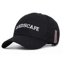 Spring  Summer 2019 New Foreign Trade Letter Lanscape Baseball Cap Sunshade Embroidered Sun Outdoor