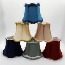 Ripple Fabric Lamp Shade for Wall Lamps Chandelier  lampshade modern style lamp cover for wall lights table lamp shade cover floor lamp cover shade fabric lampshade light cover