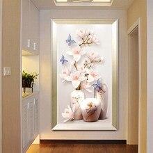 Алмазные картины Flowe 5D DYI благоприятный узор для гостиной и спальни декоративная картина для фона/Круглый Алмазный костюм ручной работы