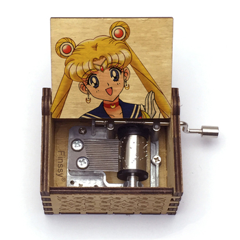 Anime Sailor Moon Music Box Music Theme Moonlight Densetsu Caixa De Musica A Girls Birthday Present Valentine's Day Gift Boxs image