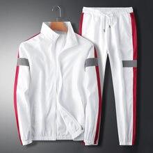 SONDR 2021 new Spring Autumn Fashion Men's leisure suit social work handsome youth fashion two-piece suit