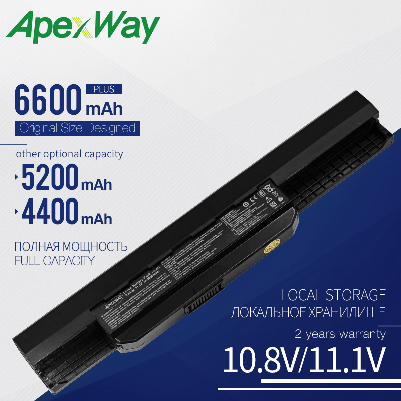 Laptop Battery For ASUS X53B X53BR X53BY X53T X53TA X53TK X53U X53X X53XC X53XE X53Z X54 X54C X54H X54HR X54HY X54L X54LY X54X