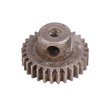 21T Steel Motor Gears Parts Pinions Accessory Suitable for HSP94111 94123 and for 1:10 RC Cars Accessories Parts image
