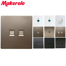 10A Eu Wall Switch Internet Phone Tv Dimming Speed Regulated Switch Smart Touch Switch Pc 250v Light Switch