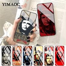 YIMAOC Che Guevara High Quality Multi Colors Glass Case for Xiaomi Redmi 4X 6A note 5 6 7 Pro Mi 8 9 Lite A1 A2 F1