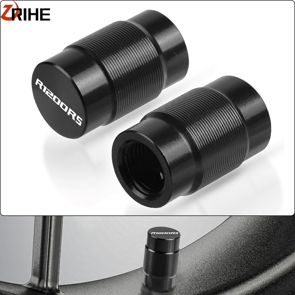 Air Port Tire Rim Valve Wheel Stem Cap Dustproof Cover Motorcycle Styling Accessories For <font><b>BMW</b></font> R1200RS R 1200 RS <font><b>1200RS</b></font> 2003-2019 image