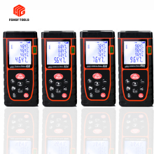 цена на Laser Distance Meter 40m 60m 80m 100m Handheld Infrared Rangefinder Measuring Instrument Level Electronic Ruler