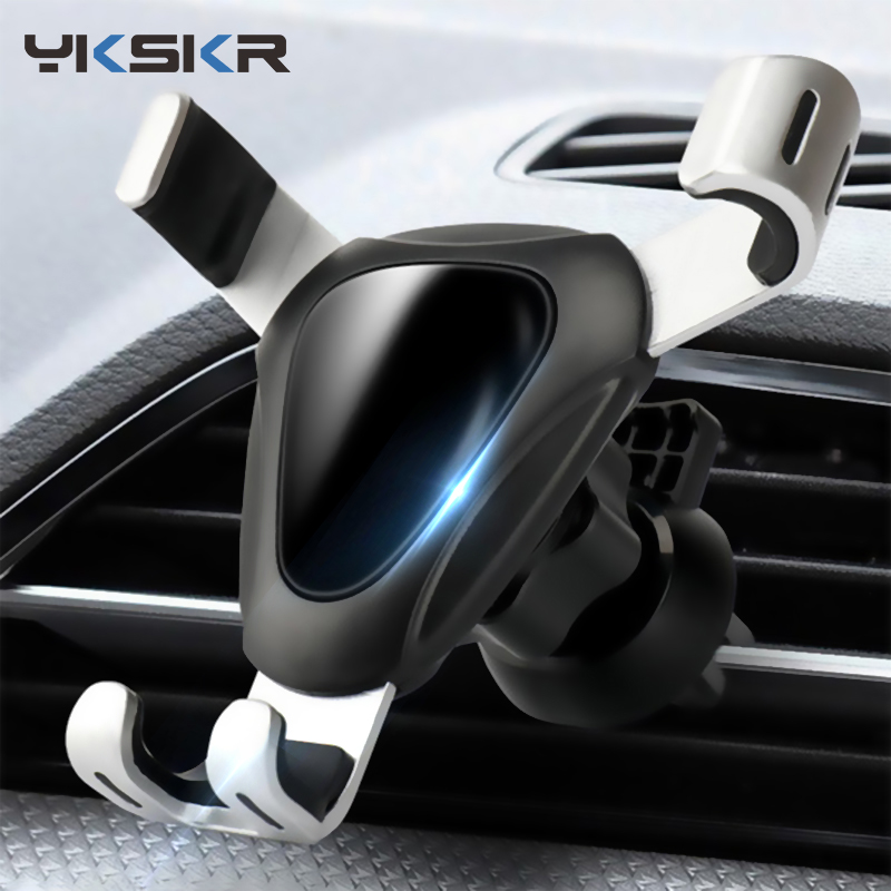 Gravity Bracket Car Phone Holder Flexible Universal Car Gravity Holder Support Mobile Phone Stand For IPhone X Xr Xs Max Samsung