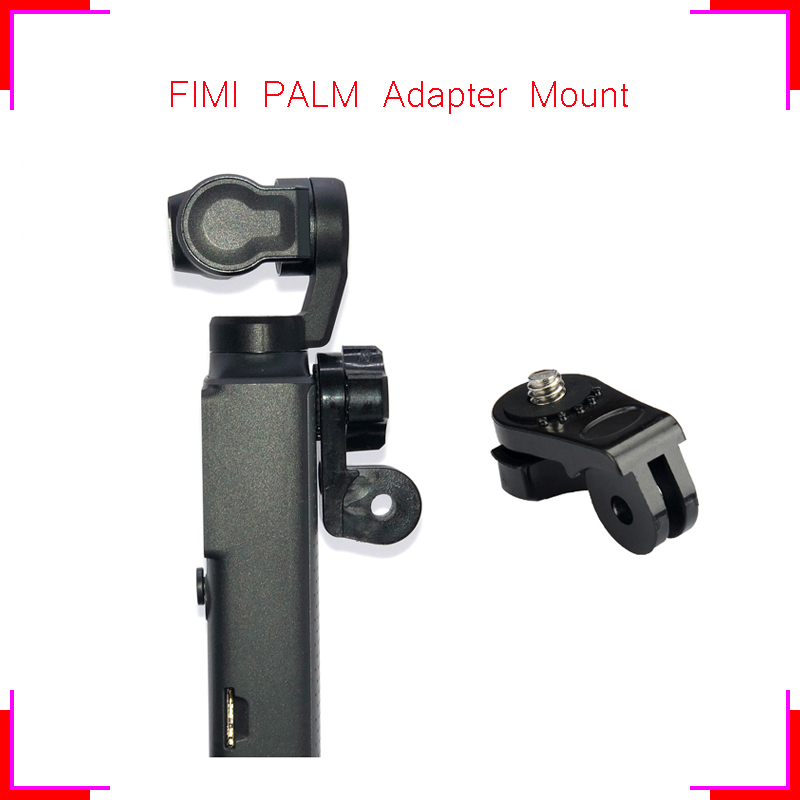 for FIMI Universal Adapter Mount Mini Tripod Screw Mount accessory Fixing for Go Pro for YI for eken Sports Action Camera