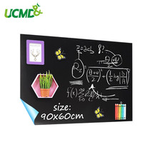 Magnetic Chalkboard Sheets 90x60cm Self-adhesive Blackboard wall Sticker Hold Magnets Kids Gratiffi Paiting Learning Toy Gifts