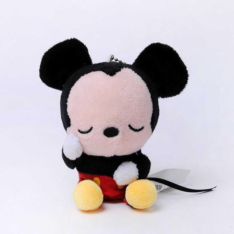 ディズニーくまのプーさんミッキーマウスミニーソフトぬいぐるみぬいぐるみ玩具キーチェーン lilo とステッチピグレットおもちゃ子供女の子のギフト