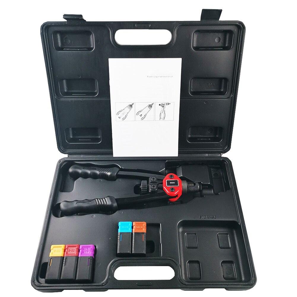 Rivet Nut Guns Auto Riveter Tool Riveter Nut Tool Hand Insert Rivet Nut Tool Manual Mandrel M3 M4 M5 M6 M8 M10 Tools Kit