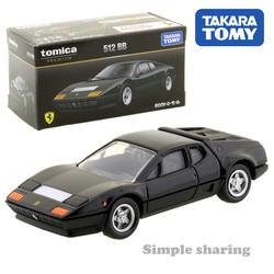 Takara tomy shopping original tomica premium 512 bb ~ 1/61 carro pop quente crianças brinquedos do veículo motor diecast modelo de metal