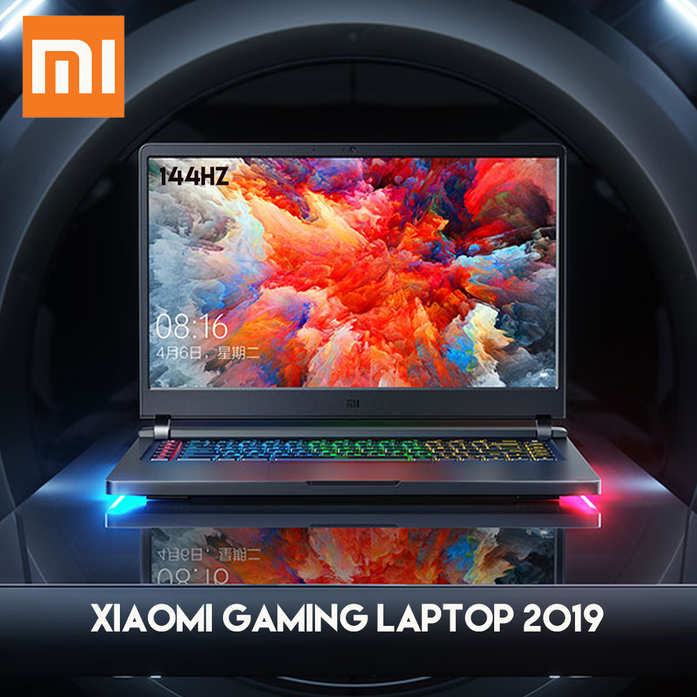 Original Xiaomi Mi Gaming Laptop Notebook Intel Core I7 - 9750H 16GB RAM 512GB SSD Windows 10 HDMI Type -C Bluetooth Laptops