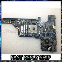 SHELI DA0R13MB6E1 for HP Pavilion G4 G6 G7 R13 650199 001 notebook pc mainboard laptop motherboard 216 0809024 100% tested ok