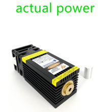 Actual power cnc15W 33mm laser head. 15W 40mm blue laser module Can engrave stainless steel. Can cut 5mm light wood with PWM/TTL