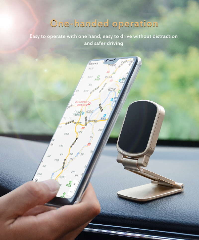 Mobile Phone Holder Magnetic Car Phone Holder Universal For iPhone X XR 11 11pro Samsung Huawei Xiaomi Cellphone Stand TSLM1