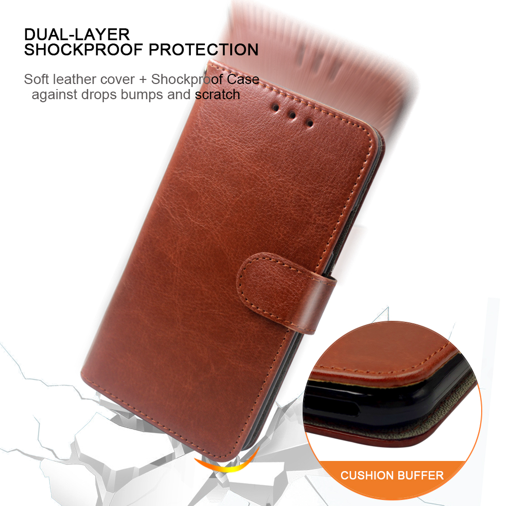 Luxury <font><b>Case</b></font> For <font><b>OnePlus</b></font> 1 2 3 <font><b>3T</b></font> 5 5T 6 6T 7 Pro <font><b>Case</b></font> <font><b>Flip</b></font> leather Wallet Card Slot silicone For <font><b>OnePlus</b></font> 7 Cover Phone bag image