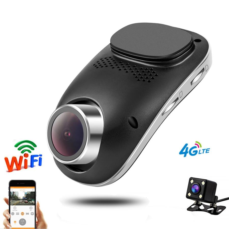 Автомобильный видеорегистратор wifi DVRs линза для двойной камеры регистратор Dashcam цифровой видеорегистратор видеокамера Full HD 1080P ночная верси...