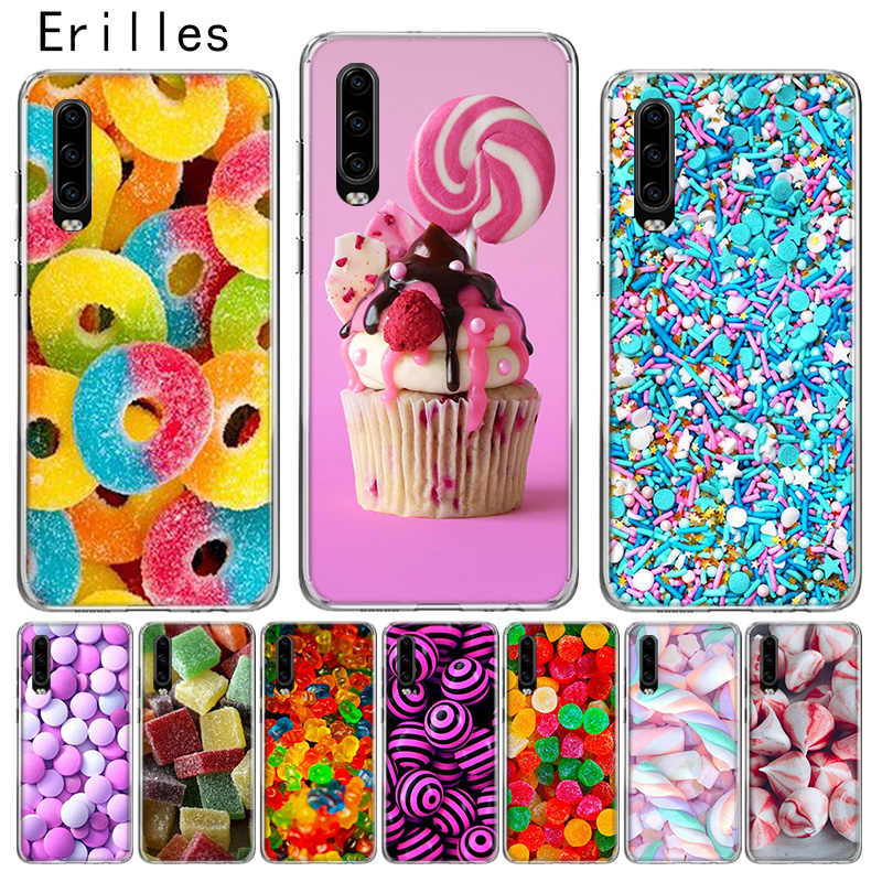 Erilles Luxe Hawei P10 P20 P30 Lite Case Voor Huawei Mate 10 Pro 20 Lite Cover P Smart 2019 Shell candy Zoete Coque