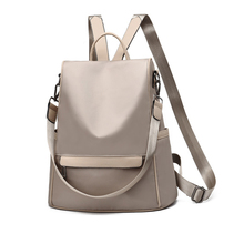 Fashion New Backpacks Oxford Cloth Anti-theft Backpack Quality Waterproof School Shoulder Bag Teenager Girls Casual Daypacks