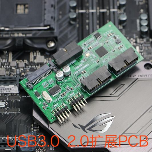 USB3.0 USB2.0 HUB Expansion Circuit Board Motherboard USB3.0 2.0 Interface Expansion PCB